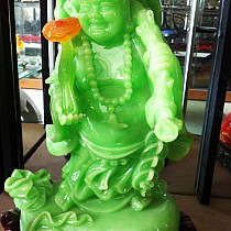 Phật ngọc xanh cười